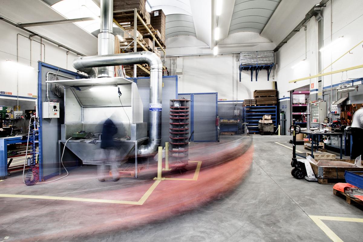 Servizio reportage industriale per Sicurpal